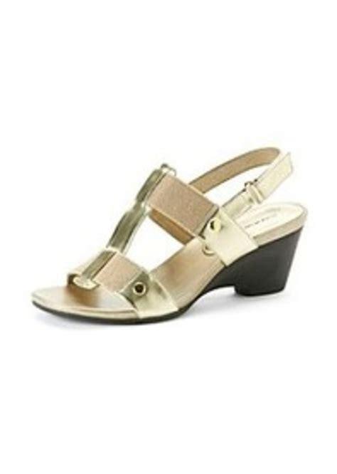 bandolino sandals bandolino bandolino 174 quot captivate quot wedge slingback sandals