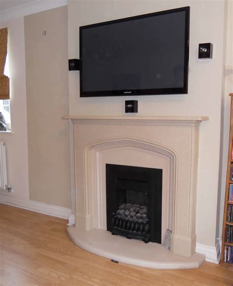 Fireplace Breast by Tv Gallery Master Av Services