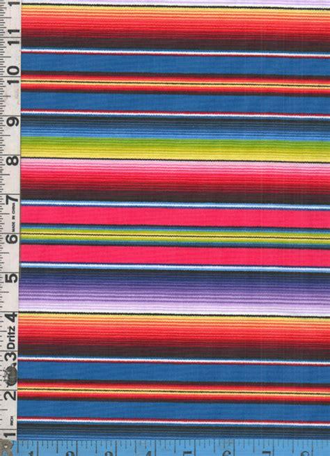 mexican blanket upholstery fabric fabric elizabeth s studio fiesta serape stripe blue by
