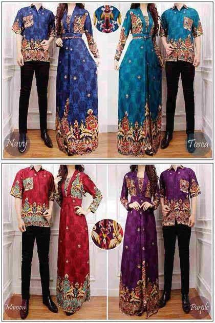Baju Sarimbit Batik Srimpi Cp 2 baju gamis batik venus 2 cp1039 busana muslim