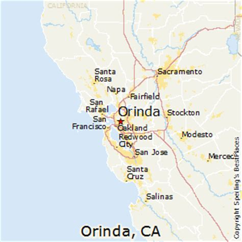 best places to live in orinda, california