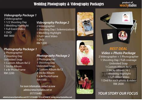 Wedding Videographer Brochure by Veracity Studios Wedding