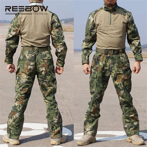 Kaos Us Marine 01 reebow tactical outdoor python camouflage