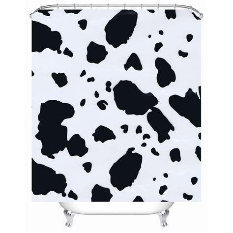 cow bathroom accessories popular cow shower curtain buy cheap cow shower curtain