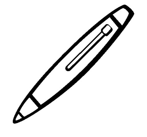 coloring pens pen coloring page coloringcrew