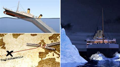wann ging die titanic unter das protokoll der titanic katastrophe zwei stunden und