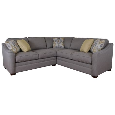 craftmaster sectional sofa craftmaster f9 design options two piece customizable