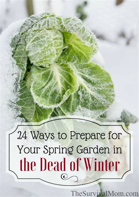 7 Ways To Prep Your Garden For Winter by The Cor Outfitters Intelligence Community Prep