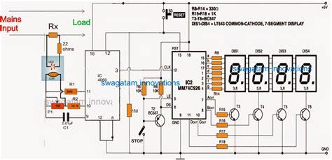 power measurement integrated circuit digital power meter circuit