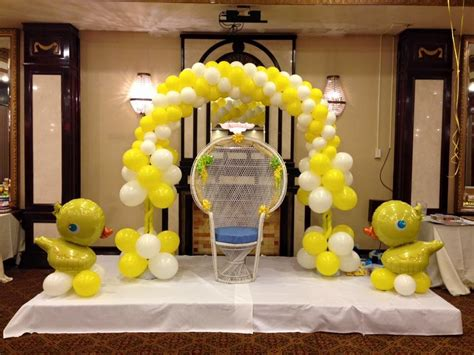 Balloon Arch Baby Shower by Deco Baby Shower Balloon