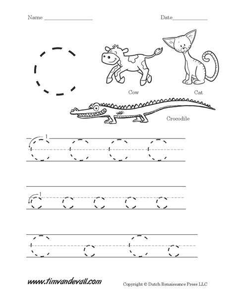 printable alphabet letter sheets letter c worksheet tim s printables