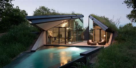 www home interior com edgeland residence a futuristic house with a smart pool