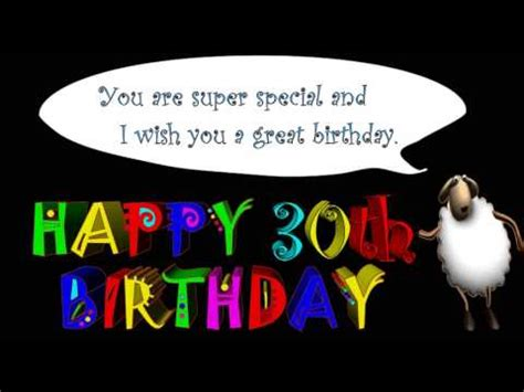 Happy 30th Birthday Wishes For Husband 30th Birthday Greetings And Wishes Youtube