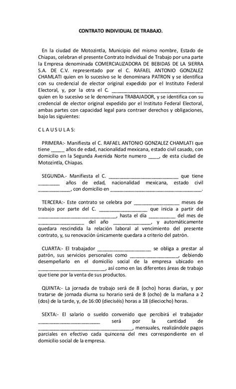 contratos de trabajo bonificados 2016 contrato individual de trabajo superior