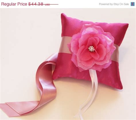 Bargain Of The Week Pink Twirl Pet Pillow by Pink Ring Pillow Pink Flower On Pink Pillow