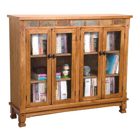 designs sedona bookcase w slate tiles becker