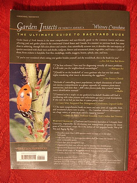 garden insects of america the ultimate guide to backyard bugs books books