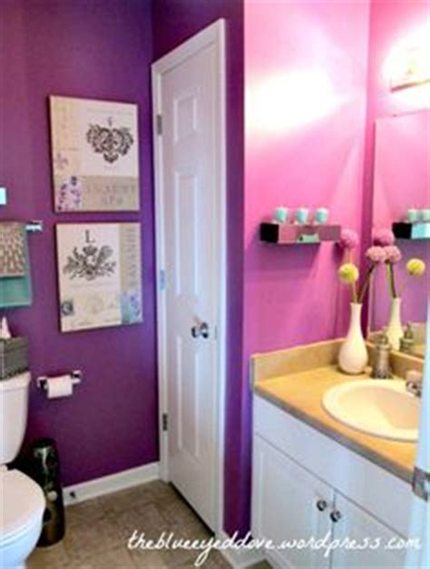 purple and teal bathroom love the teal and purple together first home ideas pinterest turquoise accent
