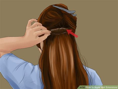 hair extantions wikipedia 3 ways to apply hair extensions wikihow