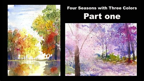 colors part 1 four seasons with three colors part 1