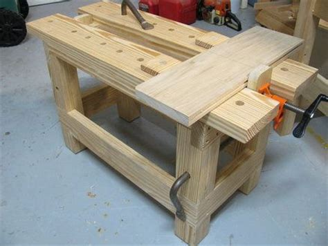 see saw bench saw bench with a pipe cl vise tools pinterest