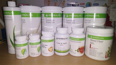 Paket Herballifee Aloe Celluloss Mixed Fiber herbalife day 1 exquisite