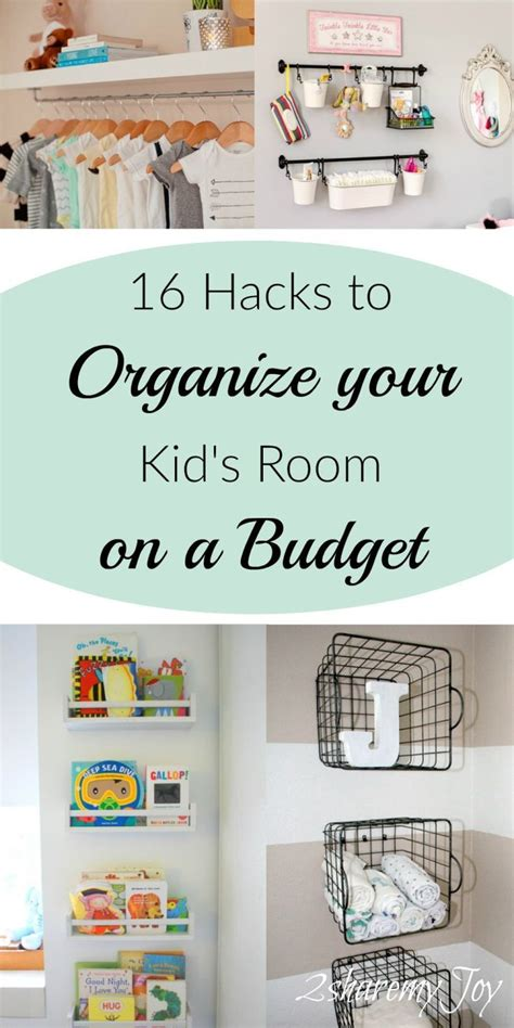 simple nurserykids room organizing diy hacks baby
