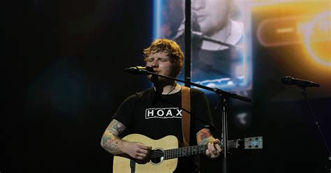 ed sheeran irish ed sheeran has announced seven irish shows but he s