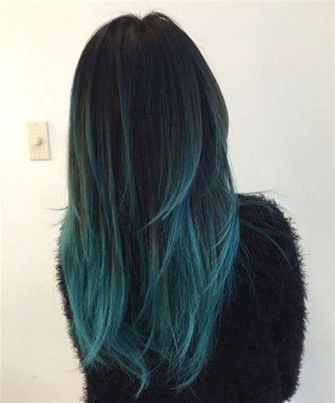 teal fine hair vigina blue highlight ideas hair world magazine