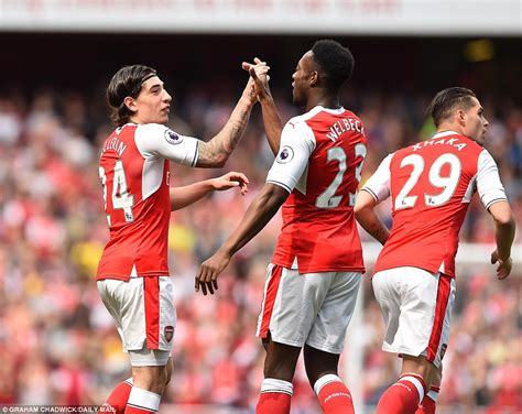 epl goals today video arsenal 3 1 everton premier league highlights