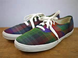 colorful tennis shoes colorful bright plaid keds tennis shoes sneakers flats