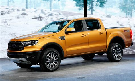 ford ranger unveiled  detroit auto show