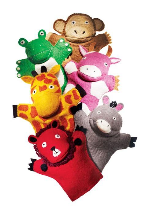 Handmade Puppets - handmade wool felt puppets puppets