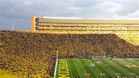 michigan student section michigan student section youtube