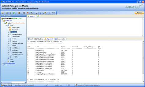reading sqlite databases in windows stuff za net