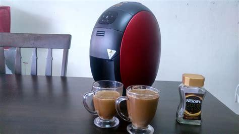 Dispenser Kopi Nescafe nikmati kopi caf 233 style dengan nescafe gold barista coffee