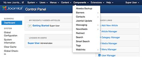 tutorial joomla component development joomla component page step by step tutorial