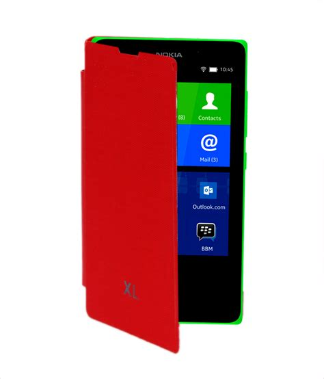 Flip Cover Hp Nokia Xl blue rock flip cover for nokia xl available at shopclues for rs 155