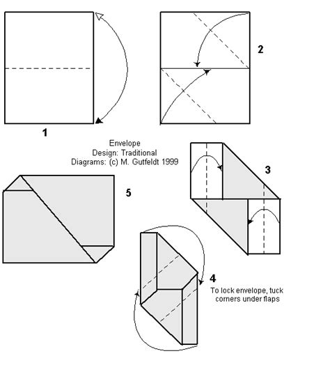 Fold Paper Envelope - letterfolds envelope fold s ways to fold a letter giving