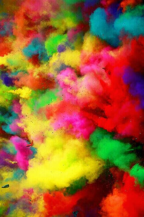 colorful powder wallpaper background color run colorful explosion powder