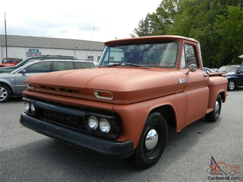 1964 gmc truck 1964 gmc bed stop side