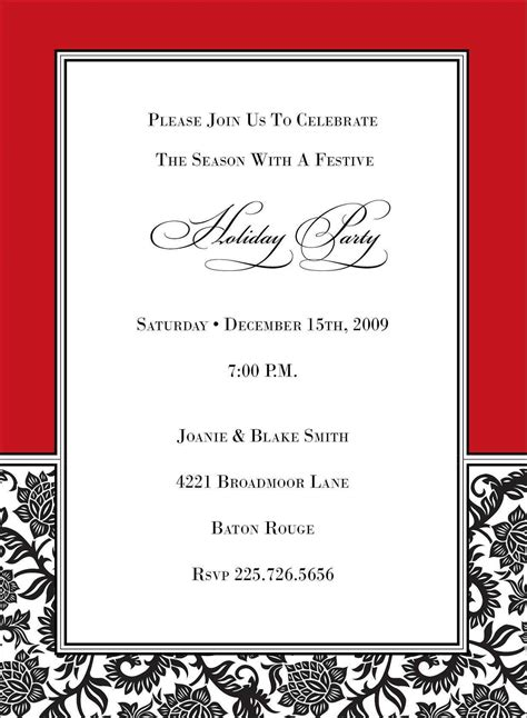 business invitation card template word business invitations business invitation card card