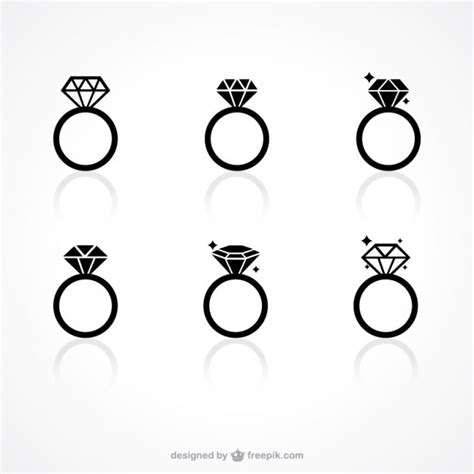 eps format wedding clip art diamond ring vectors photos and psd files free download