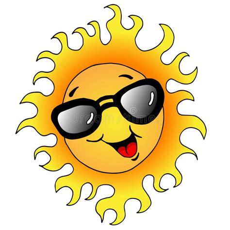 clipart occhiali fumetto sun con gli occhiali da sole illustrazioni