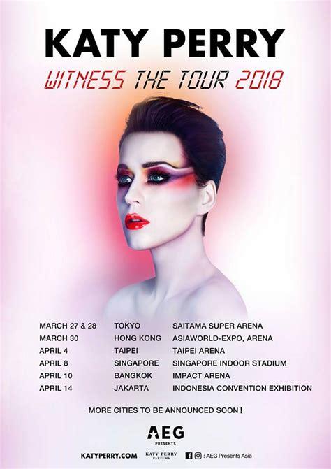 Sensation Jakarta 2018 Vip Deluxe Ticket katy perry plots 2018 asia tour singapore bangkok jakarta confirmed