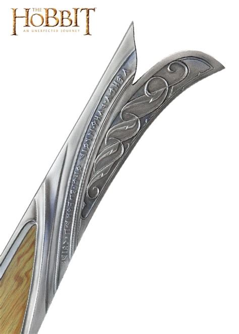The Hobbit Orcrist Sword Scabbard Uc2964 United Cutlery the hobbit fodero orcrist spada di thorin oakenshield