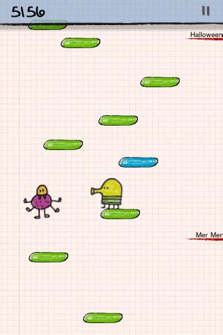 xperia mini pro doodle jump appspect review