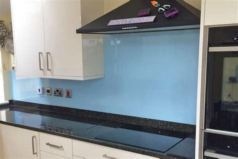 Painted Bathroom Smeg Blue Kitchen Glass Splashback Glass Splashbacks Pro