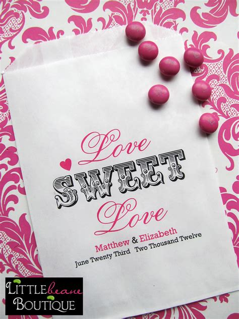 sweet sayings for bridal shower favors wedding favor bags sweet favor bags bridal