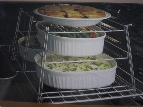 bed bath and beyond three tier oven baking or cooling rack